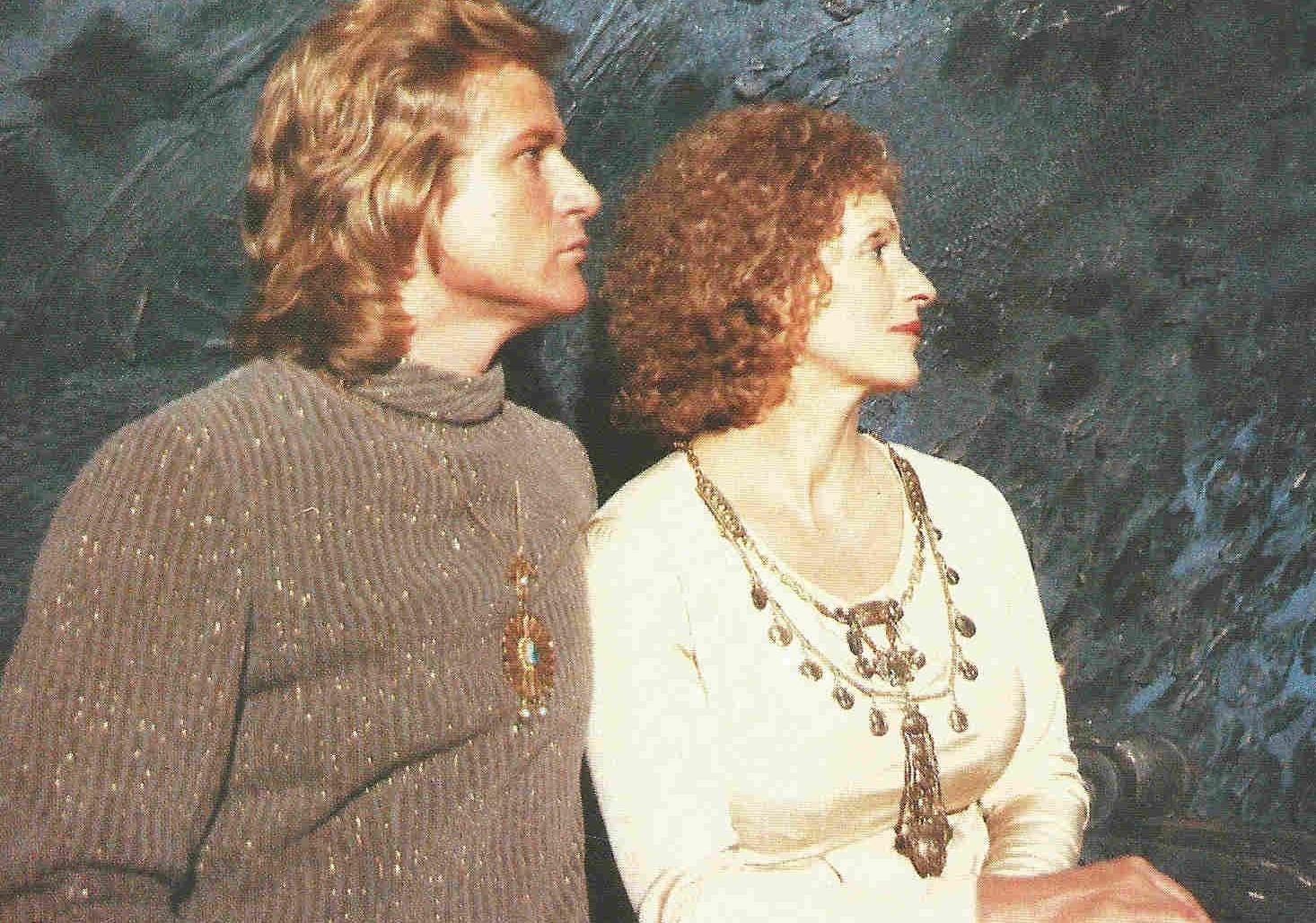 Peter Hofmann und Hildegard bBehrens als Tristan und Isolde